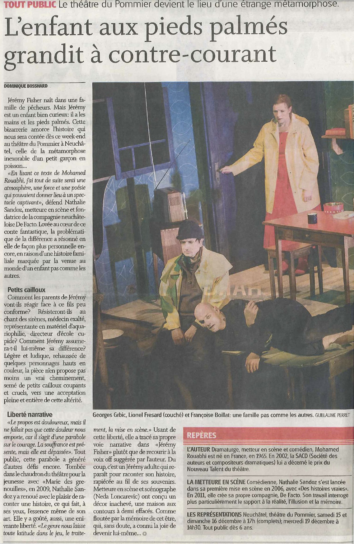 Jeremy Fisher - L'Express du 13.12.2012